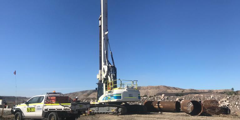 LTS Mining & Civil | Piling and Drilling Contractors | Port